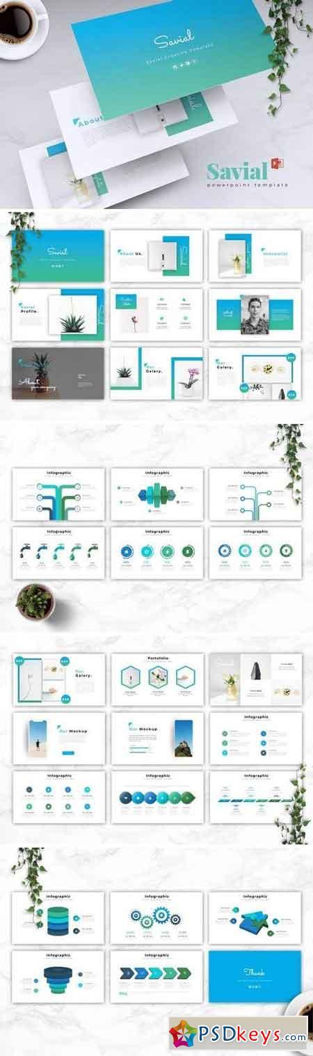 SAVIAL - Powerpoint, Keynote, Google Sliders Templates
