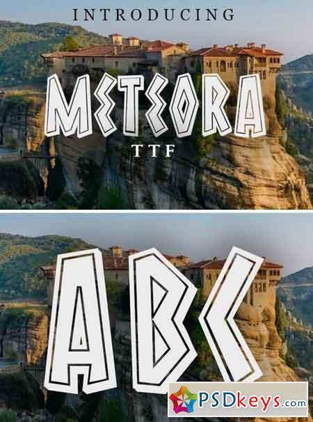 Meteora Font