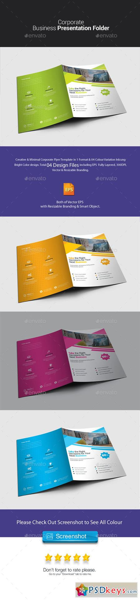 Corporate Presentation Folder 23077538