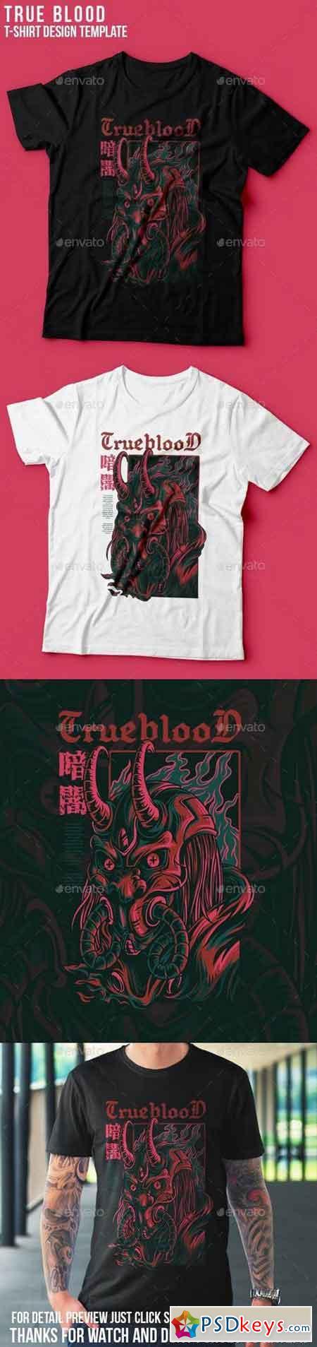 True Blood T-Shirt Design 23109788