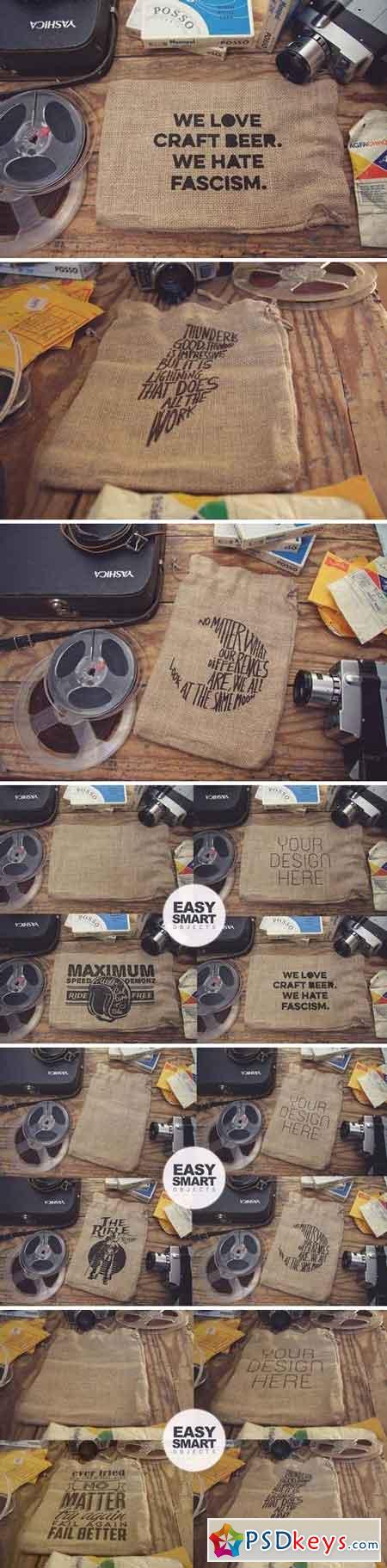 Bag Sack Mockup