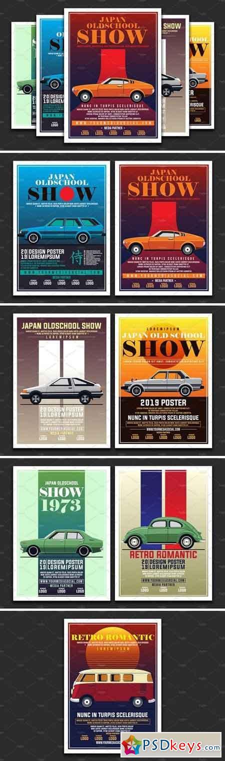 Vintage Car Show Poster 3220421