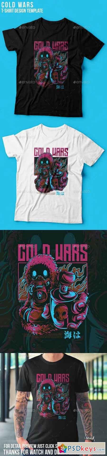 Cold Wars T-Shirt Design 23109776
