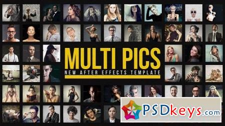 Multiple Pictures Slideshow 12794093 After Effects Template