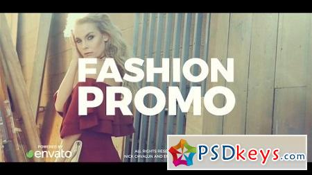 Fashion Promo 21469243 After Effects Template Videohive