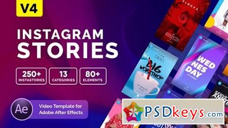 Instagram Stories V4 21850927 After Effects Template