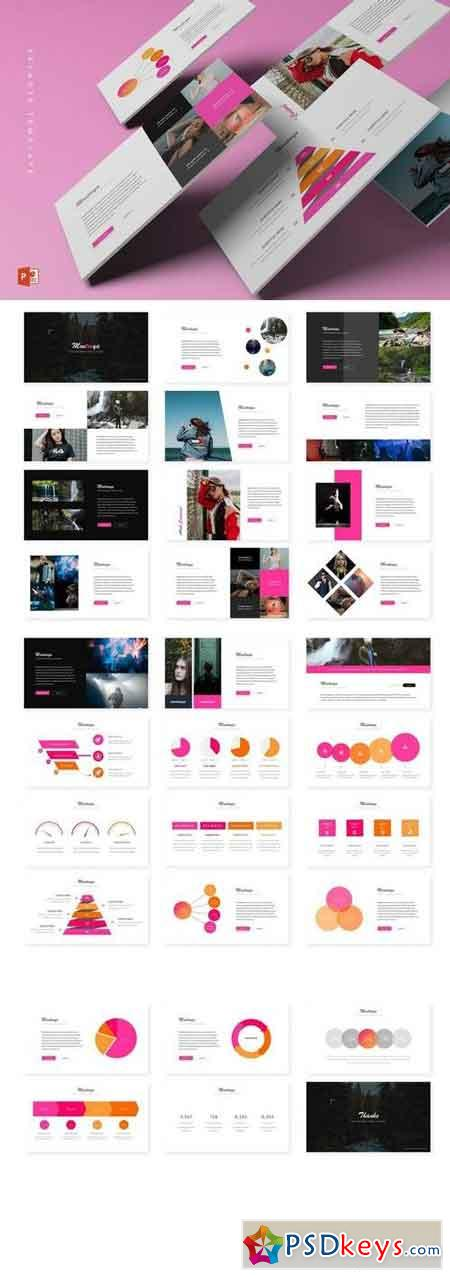 Montooya - Powerpoint, Keynote, Google Sliders Templates