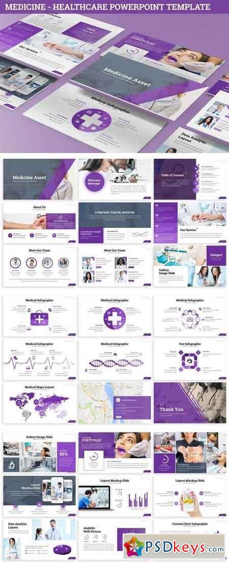 Medicine - Healthcare Powerpoint Template