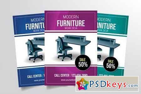 Modern Furniture Work Desk Flyer 3336385