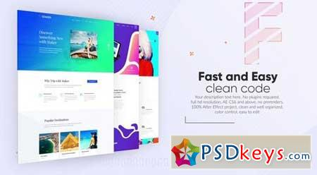 Website Promo 157191 After Effects Projects