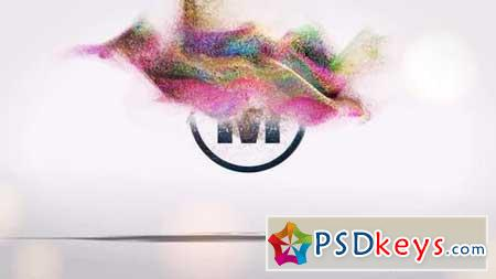 Particles Logo 1 156694 After Effects Projects