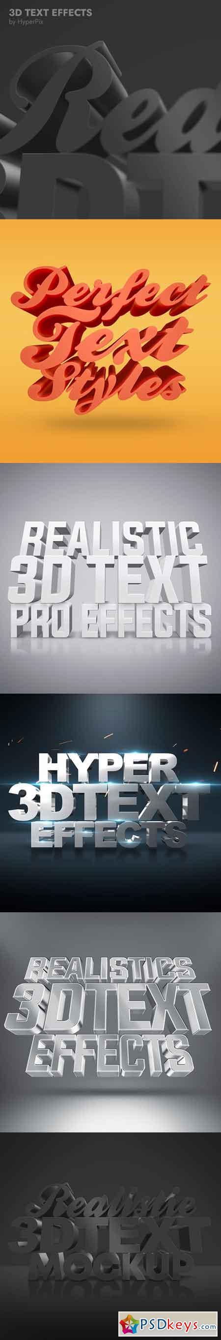 3D Text Effects 23101125