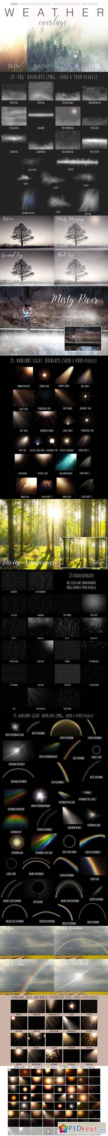 Weather Overlay Bundle 3340212