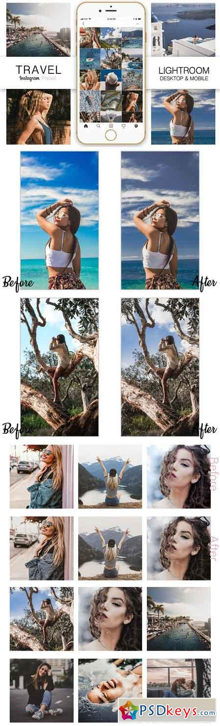 Travel Instagram Blogger Preset 3292933