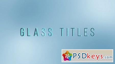 MotionArray Light Glass Titles 156898 After Effects Project