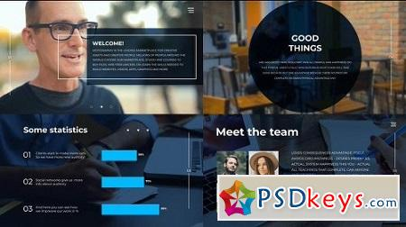 MotionArray Clean Corporate Slideshow 159252 After Effects Project