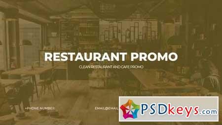 Modern Restaurant Promo 159640 After Effects Projects