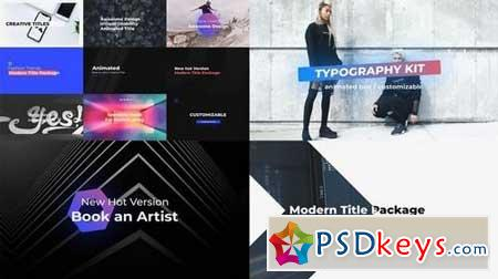 Typography 159471 After Effects Projects