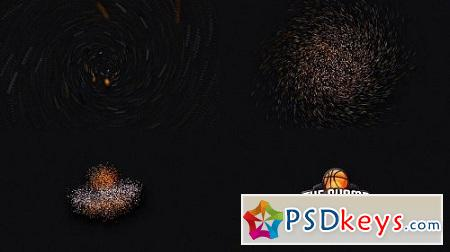 MotionArray Particle Glossy Logo Reveal 159669 After Effects Project