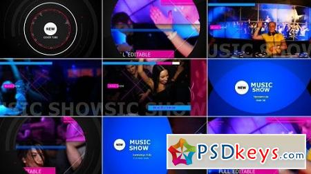 Music Show 9597464 After Effects Project