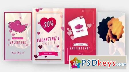 MotionArray Valentine Animated Stories 159493 After Effects Project