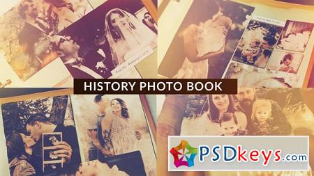 Videohive History Photo Book 22714746 After Effects Project