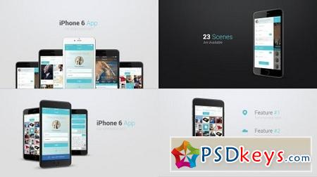 Iphone 6 App Presentation Kit 10895277 After Effects Project
