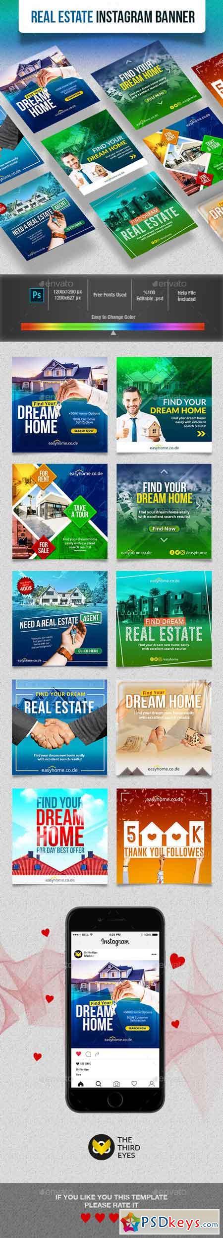 Real Estate Instagram Banner 23102118