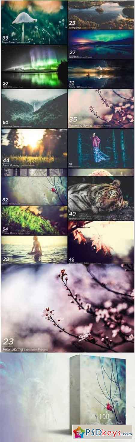 1102 Wonderland Nature Pack Lightroom Presets 3520483