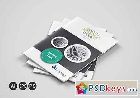 Corporate Business Bifold Brochure 3314005