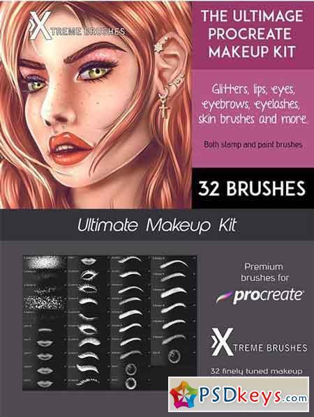 The Ultimate Procreate Makeup Kit 3191566
