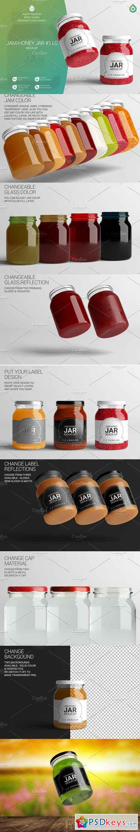 Jam Honey Jar LG Mock-Up #1 V2,0 3332012