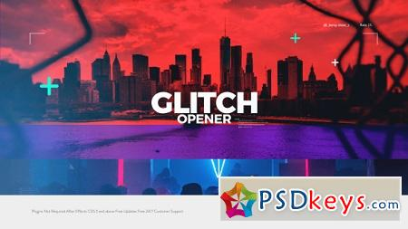 Glitch Opener 20868750 After Effects Project