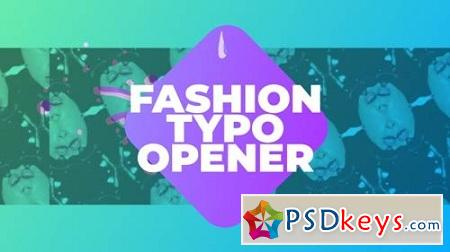 Fashion Typo Opener 21569548 After Effects Project