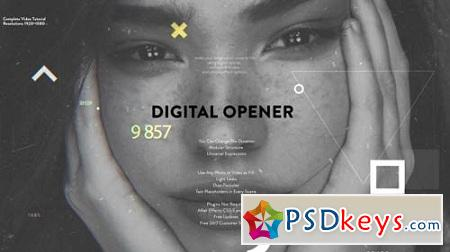 Digital Opener 21369607 After Effects Project