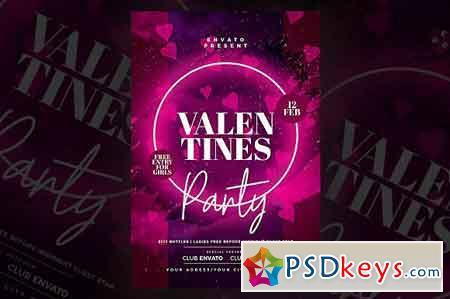 Valentines Day Flyer 3340543