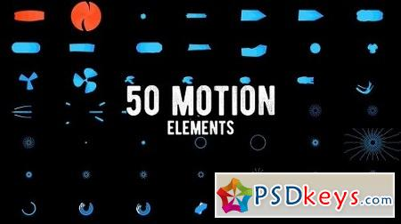 MotionArray 50 Motion Elements Pack 159257 After Effects Project