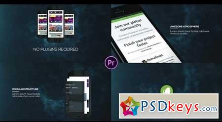 3D Phone App Promo 33359 After Effects Projects