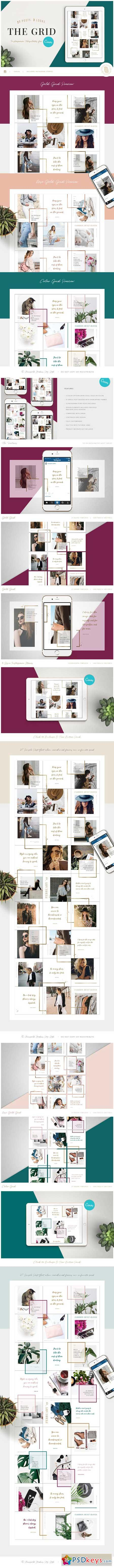 THE GRID for Canva 3325565