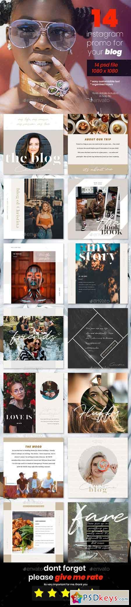 Instagram Blog Promo Pack 23107431