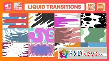 Liquid Motion Transitions 158578 After Effects Projects