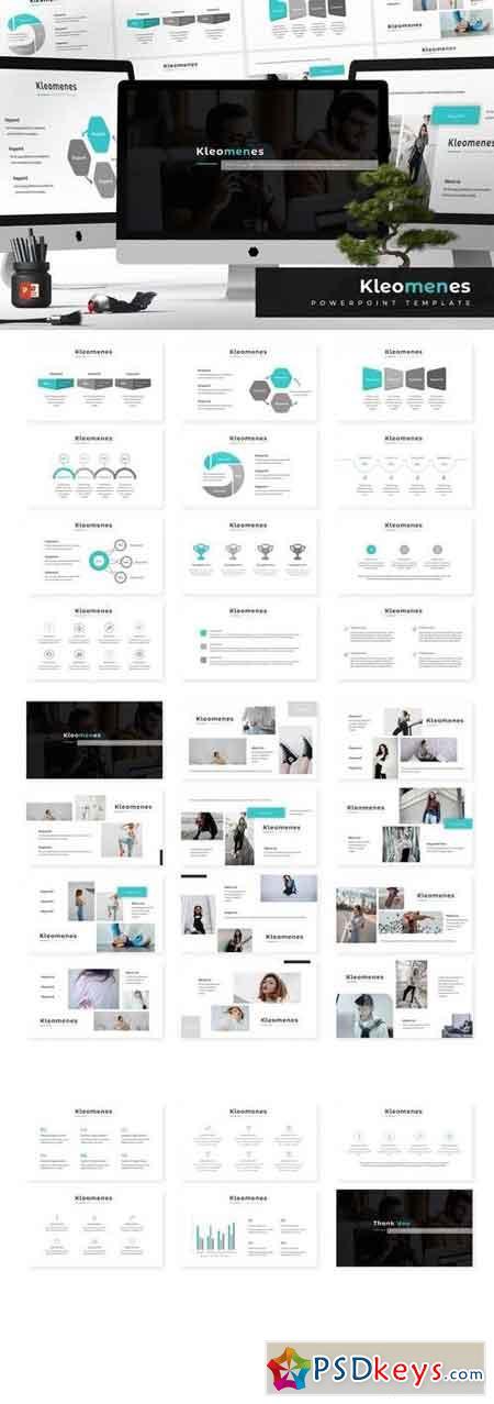 Kleomenes - Powerpoint, Keynote, Google Sliders Templates