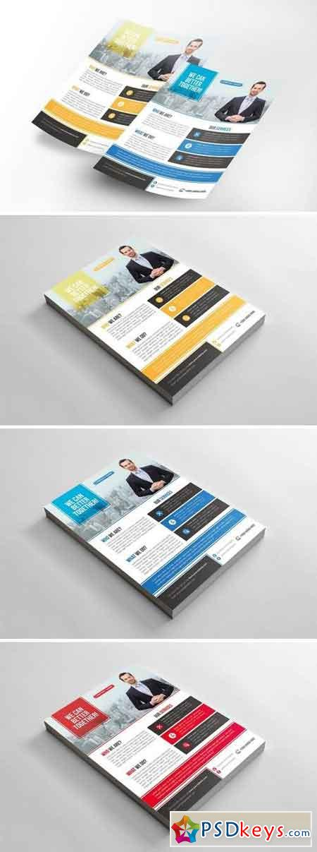 Corporate Flyers Template 2