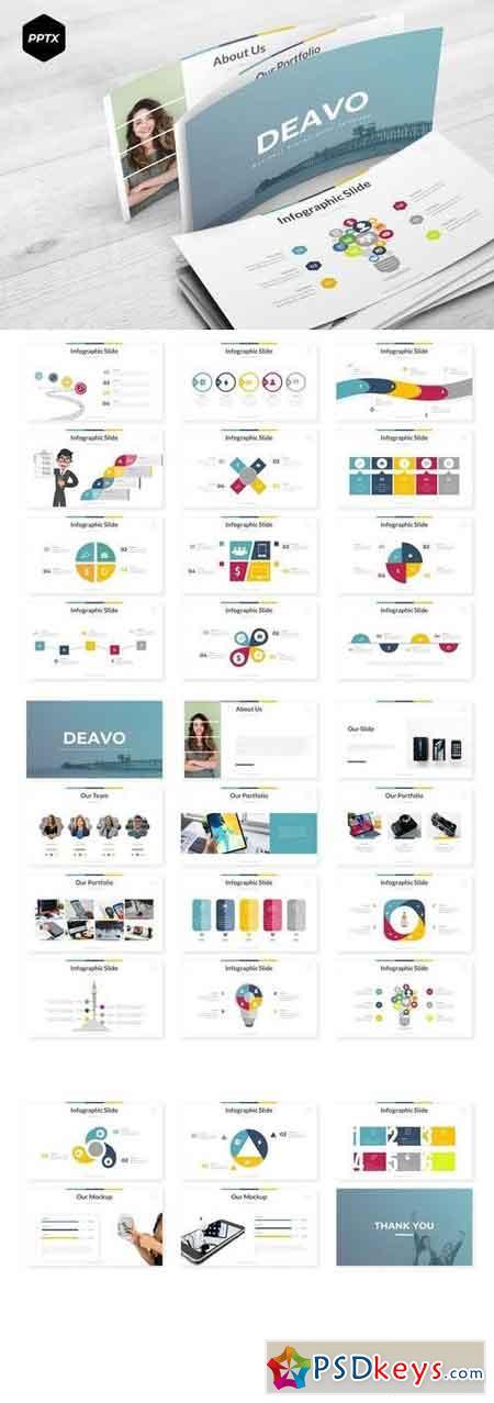 Deavo - Powerpoint, Keynote, Google Sliders Templates