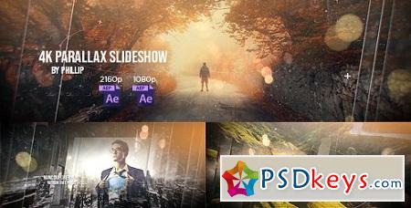 4K Parallax Slideshow 21472821 After Effects Project
