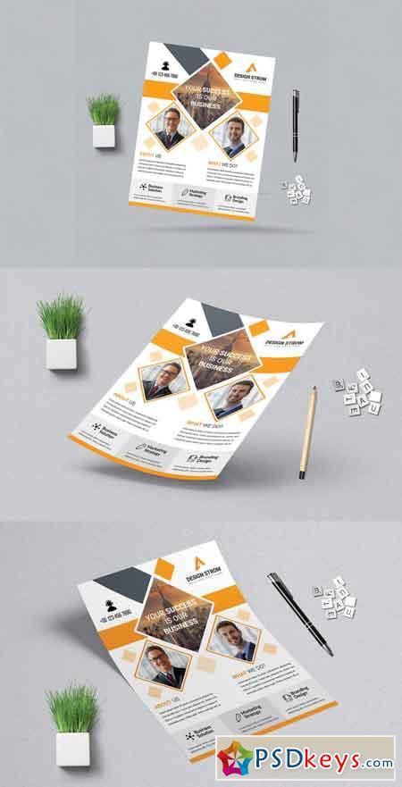 Corporat Business Flyer 3521420