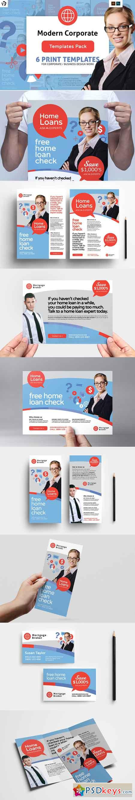 Corporate Templates Pack 3025364