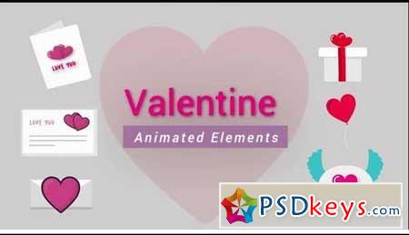 Valentine Pack- Animated Elements 157004 After Effects Projects