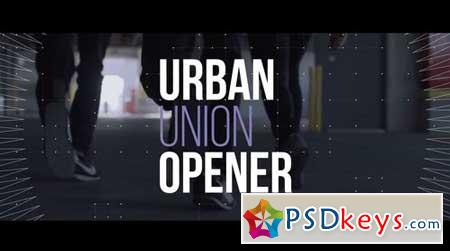 Urban Union Opener 157463 After Effects Projects