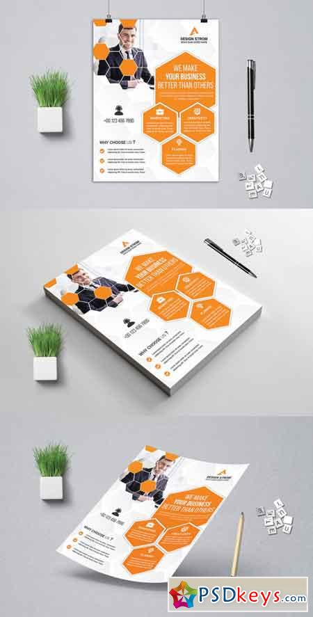 Creative Business Flyer 3522077